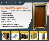 Sym Akustik Ses Geçirmez Ahşap Kapı 42 Dba