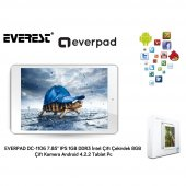 Everpad Dc 1106 İntel Atom Z2520 1.2ghz 1gb Ram 8 Gb Disk 7.85