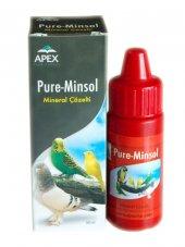 Apex Pure Minsol Kuş Mineral Çözelti 30 Ml
