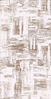 Vizon Renk Modern Desenli Yatak Odası Halısı Hs91601v