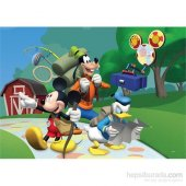 Disney Mickey Mouse Puzzle (Yapboz) 100 Parça
