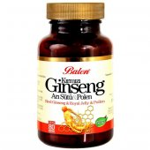 Balen Kırmızı Ginseng Arı Sütü Polen 375 Mg 80 Kapsül