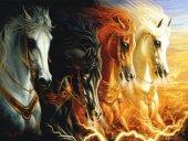 3116 Mahşerin Dört Atlısı 1000pcs Puzzle Anatolian