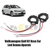 Golf 7 Mk7 Gti H7 Led Xenon Far Bağlantı Montaj Sabitleme Aparatı