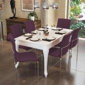 Alkur Home Lidya Yemek Masa Takımı Clas 9 Renk Kumaş Seçeneği