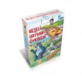 Neşeli Hayvan Öyküleri Hikaye Seti 15 Kitap 2.sınıflar İçin