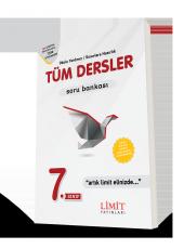 Limit Yayınları 7. Sınıf Tüm Dersler Soru Bankası Yeni