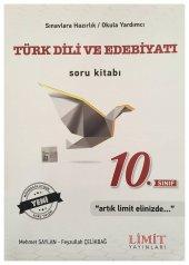 Limit Yayınları 10. Sınıf Türk Dili Ve Edebiyatı Soru Kitabı