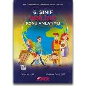 Esen Yayınları 6. Sınıf İngilizce Konu Anlatımlı Yeni Müfredat