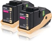 Epson C13s050607 Ikılı Magenta Toner Al C9300dn, Al C9300dtn,