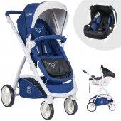 Casual Cadillac Trona Travel Sistem Bebek Arabası Mavi