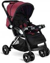 Babyhope Bh 3055 Süper Grand Bebek Arabası Kırmızı