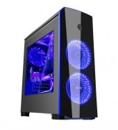 Izoly İcon Blue Midt 2xled 350w Pencereli Gaming K...