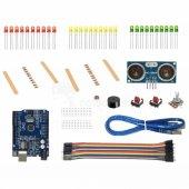 Arduino Uno Ekonomik Başlangıç Seti (Büyük Kutu Ve Breadboard)