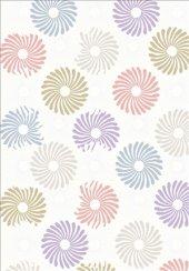 Karışık Renk Pudra, Beyaz, Sarı, Mavi Yolluk Halısı Hs94005r