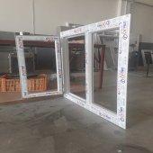 120x140 Orpen Çift Cam Tek Kanat Pencere