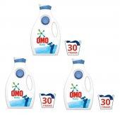 Yeni Omo Baby Sıvı Çamaşır Deterjanı Hipoalerjenik Bebek İçin X3