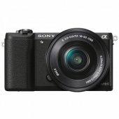 Sony A5100 16 50 Mm Kit Fotoğraf Makinesi Siyah