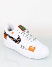 Air Force Beyaz Just Do İt Sneaker Erkek Spor Ayak...