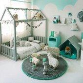 Montessori Yatak Yeşil En Uygun Fiyata İmalattan Satış