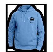 Queen Mavi Sweatshırt
