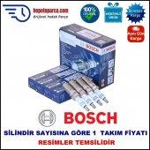 Cıtroen Zx 1.6i (07.1993 10.1997) Bosch Buji Seti Nikel İtriyum Alaşımlı 4 Adet