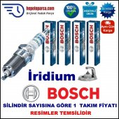 Cıtroen C3 Pluriel 1.4 (05.2003 10.2012) Bosch Buji Seti Platin İridyum (Lpg) 4 Adet