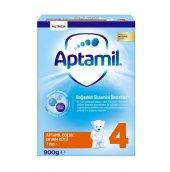 Aptamil Pronutra 4 Devam Sütü 1 Yaş+ Ay 900 Gr Yeni Kutu Skt 07 2020