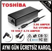şarj Aleti Şarj Adaptörü Toshıba Uyumlu 19 V 4.74 Amper