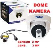 Avenir Dome Kamera Sensor 2 Mp Lens 3 Mp Megapixel Ahd Kamera