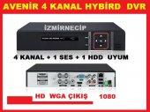 Avenir Hybrid Ahd Ve Analog Dvr Kamera Kayıt Cihazı 4 Kanal Hd