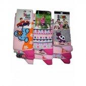 İlkal Kız Çocuk Çorap 7 8 Yaş 12 Çift