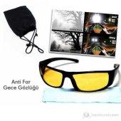 Anti Far Gece Görüş Gözlüğü (Taşıma Çantalı Ve Temizleme Bezi H