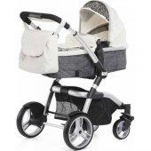 Carra Tesoro Travel Sistem Bebek Arabası Vanilla Lace