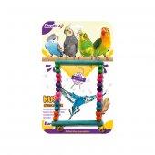 Eurobird Kuş Oyuncağı Dikdörtgen Salıncak (Ky14)