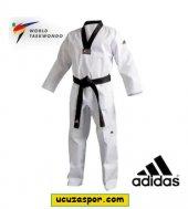 Adidas Adi Club Taekwondo Elbisesi Siyah Yaka