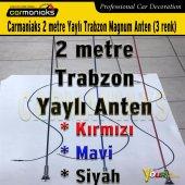 Carmaniaks 2 Metre Yaylı Trabzon Magnum Anten Mavi
