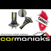 Carmaniaks Motosiklet Led Xenon H4 Beyaz Cree Led Teknolojisi