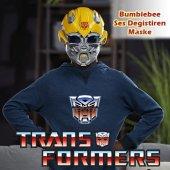 Transformers 5 Bumblebee Ses Dönüştürücü Maske Orjinal Lisanslı Çocuk Oyunları Robot Oyuncakları