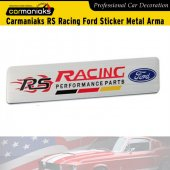 Carmaniaks Rs Racing Ford Performance Parts Sticker Metal Arma