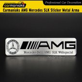 Carmaniaks Amg Mercedes Slk Sticker Metal Arma