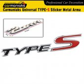 Carmaniaks Universal Type S Sticker Metal Arma