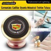 Carmaniaks Cadillac Uyumlu Mıknatıslı Gold Telefon Tutucu Crm5022