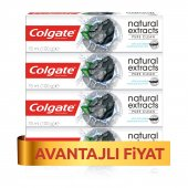 Colgate Natural Extracts Aktif Kömür Karbon Diş Macunu 4 X 75 Ml