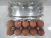 Yumurta Viyolü Şeffaf Plastik 10' Lu Pvc (50 Adet)
