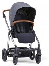 Mamas Papas Sola 2 Bebek Arabası Chrome Navy Marl