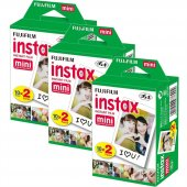 Fujifilm Instax Mini 20li Film 3lü Set 60 Poz