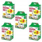 Fujifilm Instax Mini 20li Film 5li Set 100 Poz