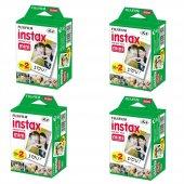 Fujifilm Instax Mini 20li Film 4lü Set 80 Poz