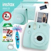 Fujifilm Instax Mini 9 Açık Mavi Fotoğraf Makinesi Ve Hediye Seti